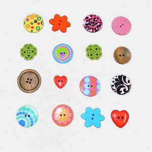 Buttons by Fabric World George