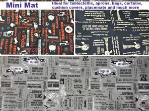 Mini mat at Fabricworld in George