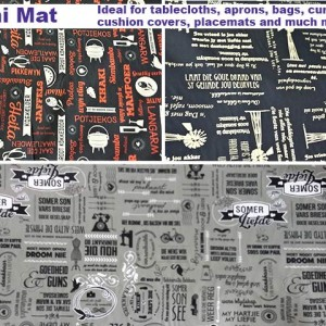 Mini mat at Fabricworld in George