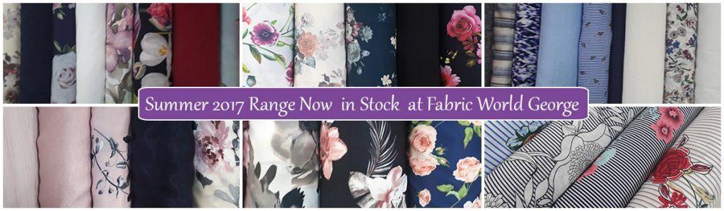 Smmer 2017 Range at Fabric World