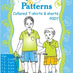 Collard T Shirt Pattern