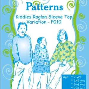 Kiddies Raglan Sleeve Top