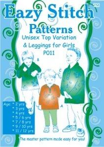 Unisex Top Variation and Leggings for Girls