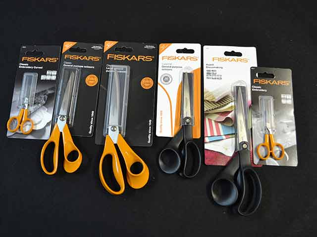 Fiskars Dressmaking Scissors by Fabric World George
