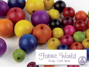 Wooden Beads by Fabric World