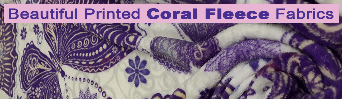Coral Fleece at fabricworld in George
