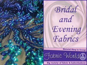 Bridal and Evening Fabric World George