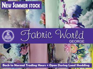 Fabric World Summer Stock 2020