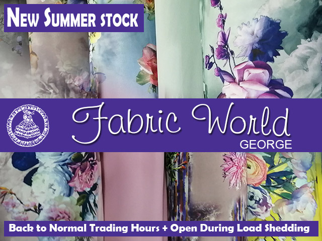 Fabric World Summer Stock 2020