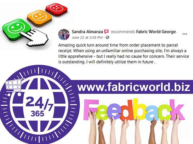 Fabric World Online Shopping Experience