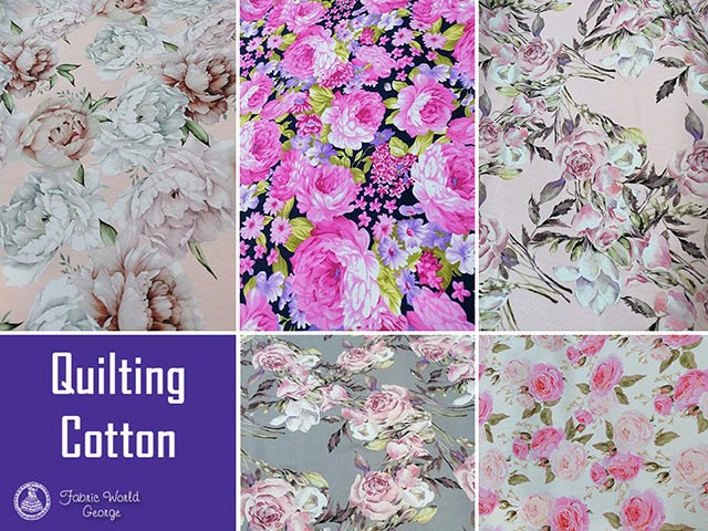 100% Quilting Cotton